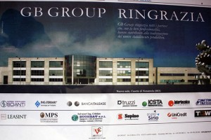Gb Group ringrazia